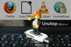 Linutop OS for secure surfing