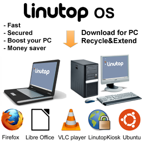 Ext : - Upgrade Linutop OS for PC