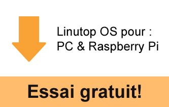 Linutop OS pour PC et Raspberry Pi