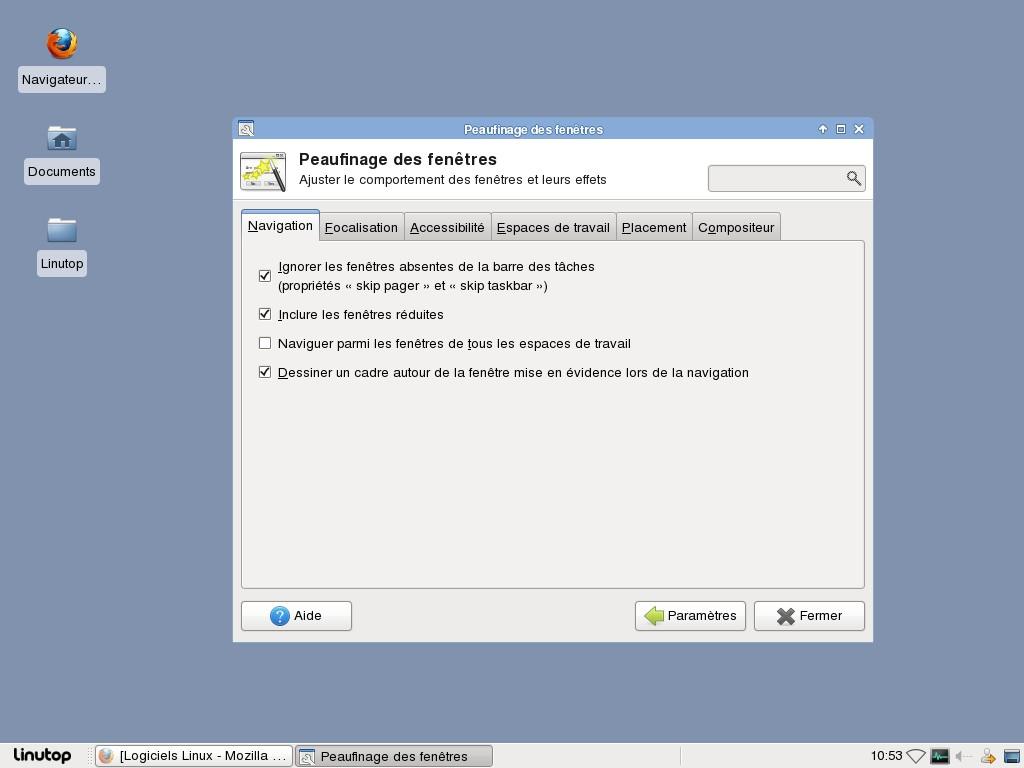Logiciels linux for Gestionnaire de fenetre