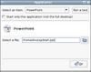 Autostart a Powerpoint presentation