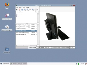 Linutop OS mini PC Linutop picture viewer